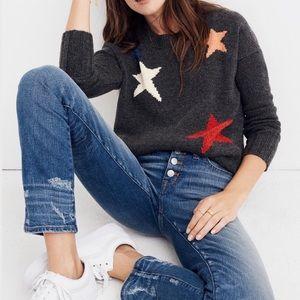 Madewell 100% merino wool Starry night Sweater S